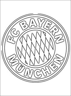 FC Bayern Munich Coloring Page | Coloring Pages