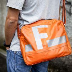 Messengerbag, nicht nur für Feuerwehrleute