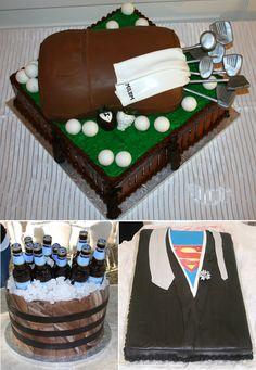 The golf bag - groom's cake