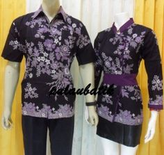 model blus batik pasangan mama papa BS128 Rp.170.000