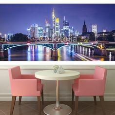 Frankfurt, Germany Financial District  MaMurale.com