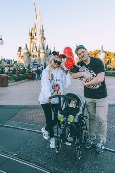 Barefoot Blonde at Disney World Day 2 Family