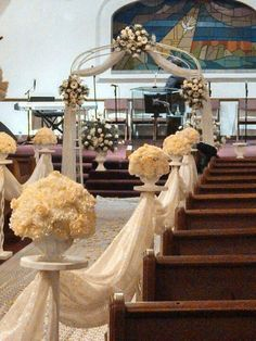 Wedding church decor - KDQ