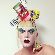 The Extreme Face Art of LyleXOX | Hint Fashion Magazine