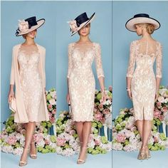 Cheap Lace Mother Of The Bride Outfit Chiffon Jacket Wedding Guest Dress 2017 in Clothes, Shoes & Accessories, Wedding & Formal Occasion, Mother of the Bride | eBay!
