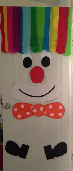 Clown door