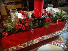 Curb Alert! Repurposing an old CD Rack into a great Christmas Centerpiece.