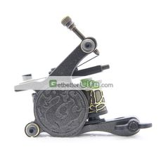 US$3.99 - New Unique Aluminium Alloy Tattoo Shader and Liner Machine Gun 10 Wrap Coils Supplies