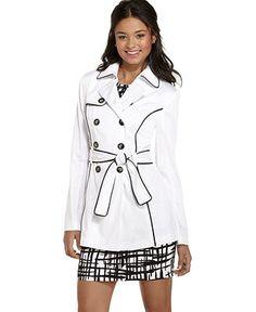 BCX Womens Juniors Sheer Striped Dress Top