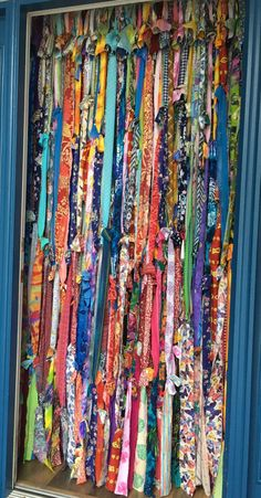 BOHO Gypsy CURTAINS di IslandChickDesigns su Etsy