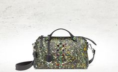 This Fendi Fall/Winter 2014-15 galaxy-printed 'By The Way' bag is out of this world. For more fierce accessories, visit http://balharbourshops.com/