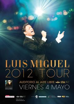 Luis Miguel en IFA el 4 de mayo