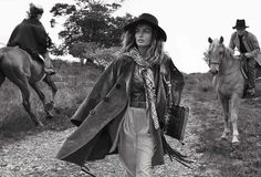 Vogue Spain    October 2015  Model : Andreea Diaconu Photographer : Benny Horne
