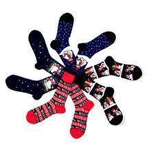 Socks with a Christmas Theme