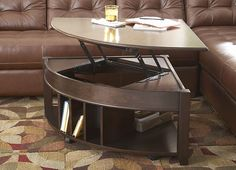 have to have it. steve silver lidya corner wedge lift-top coffee