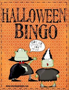 FREE Halloween Bingo Game Download