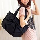 Bow-Accented Tote(Black)