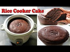 Rice Cooker Cake | NO - OVEN | YOU WON'T BELIEVE THIS INDIAN RICE COOKER CAKE CHANGES EVERYTHING - YouTube Rice Cooker Cake, Rice Cooker Recipes, No Bake Chocolate Cake, Chocolate Recipes, Chicolate Cake, Cake Recipes, Dessert Recipes, Dessert Ideas, Cooking Cake