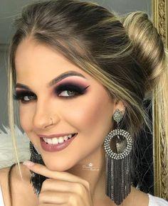The Hottest Celebrity Makeup Tips As Revealed By The Beauty Magicians Crazy Makeup, Cute Makeup, Gorgeous Makeup, Makeup Inspo, Makeup Inspiration, Beauty Makeup, Hair Makeup, How To Make Hair, Eye Make Up