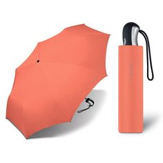 Deštník ESPRIT Salmon lososový - plně automatický skládací deštník Women's Umbrellas, Ladies Umbrella, Salmon, Design, Atlantic Salmon, Trout