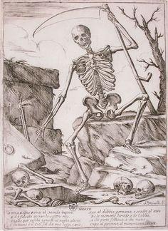 Giuseppe Maria Mitelli, Morte, late 17th century