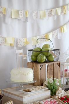 Adorable country picnic 3rd bday party inspiration