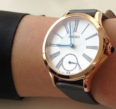 Love this watch seiko woman