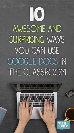 Learn how to use docs in your classroom to make learning interesting for your students and life a lot easier for yourself! Google Drive, Teaching Technology, Educational Technology, Instructional Technology, Instructional Strategies, Technology Tools, Technology Integration, Digital Technology, Technology Management