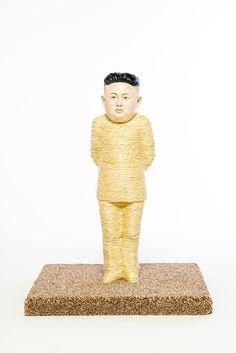 Image of Kim Jong-un Cat Scratching Post