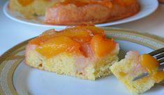 Пирог с персиками. Персиковый пирог