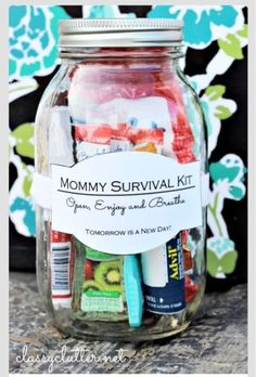 Mommy Survival Kit #Various #Trusper #Tip