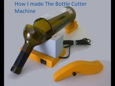 How to make an Electric Bottle Cutter Machine - YouTube