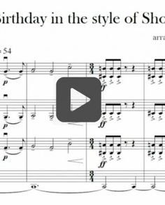 Happy Birthday, Shostakovich-Style - LOTS of fun clips for composer study