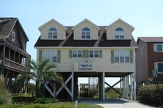 Holden Beach, NC - Mullet Over 761 a 5 Bedroom Oceanfront Rental House in Holden Beach, part of the Brunswick Beaches of North Carolina. Includes Hi-Speed Internet. Non-Smoking.