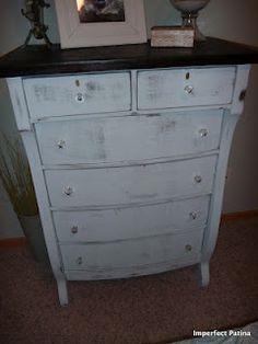Antique Dresser - Imperfect Patina