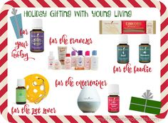 essential oil Christmas gift ideas for everyone