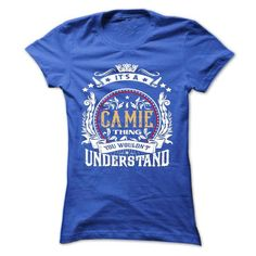 CAMIE .Its a CAMIE Thing You Wouldnt Understand - T Shi - #gift bags #thank you gift. WANT => https://www.sunfrog.com/Names/CAMIE-Its-a-CAMIE-Thing-You-Wouldnt-Understand--T-Shirt-Hoodie-Hoodies-YearName-Birthday-54282212-Ladies.html?68278
