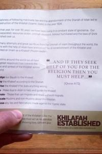 Pro Isis Leaflets Distributed In London S Oxford Street