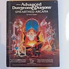 1985 ADVANCED DUNGEONS & DRAGONS UNEARTHED ARCANA HARDCOVER BOOK TSR 2017