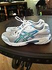 Asics Gel-Galaxy 4 White Green Blue Womens Sz 8 - http://clutches-handbags-shoes.com/2013/04/asics-gel-galaxy-4-white-green-blue-womens-sz-8/
