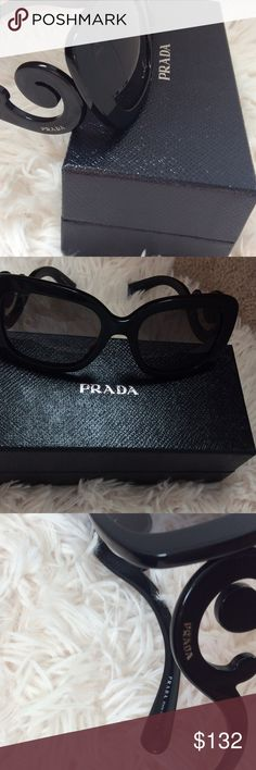 Prada preloved sunglasses 💕 Minimal scratches no very noticeable 😊authentic comes with box...case not included 💕 Prada Accessories Glasses