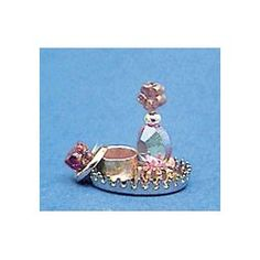 Add miniature bathroom accessories to complete the look of your dream antique or modern bathroom. Fairy Garden Accessories, Bathroom Accessories, Bead Bottle, Miniature Crafts, Mini Things, Mini Bottles, Modern Family, Dollhouses, Crafts To Make