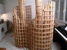 Truly amazing - Kapla construction destruction