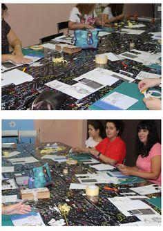 Creativos Scrap: 1º TALLER DEL MES DE JUNIO