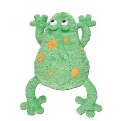 "Stephen Joseph Silly Sac Frog — 18"" — A combination of mesh and plush make these silly little critter backpacks irresistible! Terrific for the beach or stuffed with PJ's for for a sleepover. Fill them with coordinating items for an extra special gift and personalize them with a monogram!"
