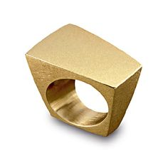 CDA000064001001 Geometric 'Pavé' Trapezoidal Ring