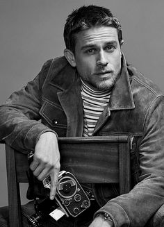 Hello darkness,my old friend — charleshunnam: Charlie Hunnam photographed by...