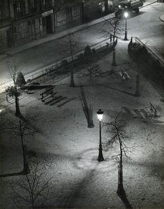 """""""paris night square""""…1927"""