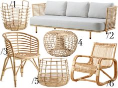 DREAMING ABOUT RATTAN FURNITURE
