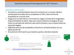 OpenText Employee File Management for SAP® Solutions   JDTechnology, CO   Pulse   LinkedIn